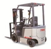 TEU FB15 four-wheel fork electric forklift
