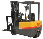 TEU FTB15 three-axle fork lift truck