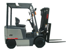 TEU FB20 four-wheel fork electric forklift