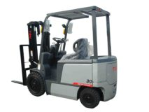 TEU FB30 four-wheel fork electric forklift