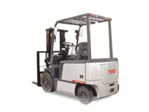 TEU FB35 four-wheel fork electric forklift