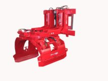 Gripper for rolls with a slope of 90 °