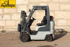 Forklift Gas  Gasoline 2005 NISSAN CL40LP